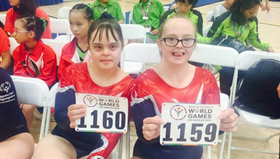 world games gymnasts
